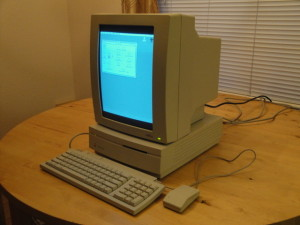 My first Apple Computer.